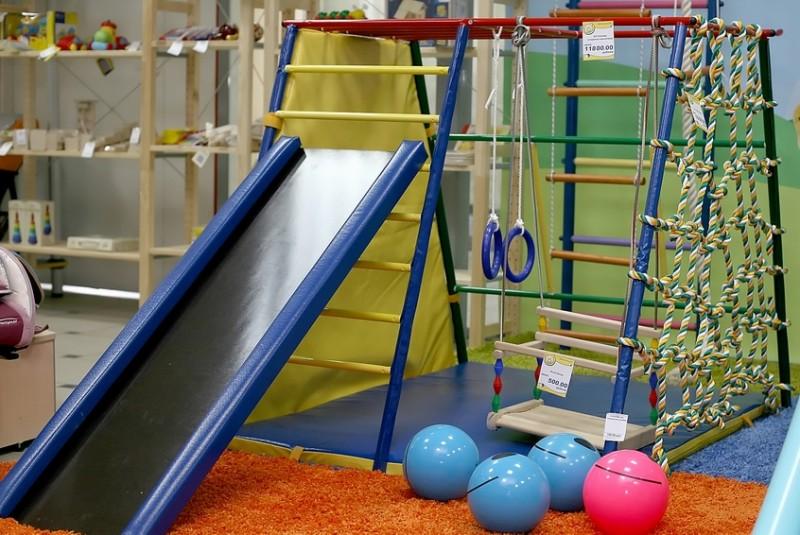 Детский спортивный комплекс для детей своими руками