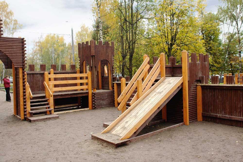 Готовые детские площадки для дачи распродажа