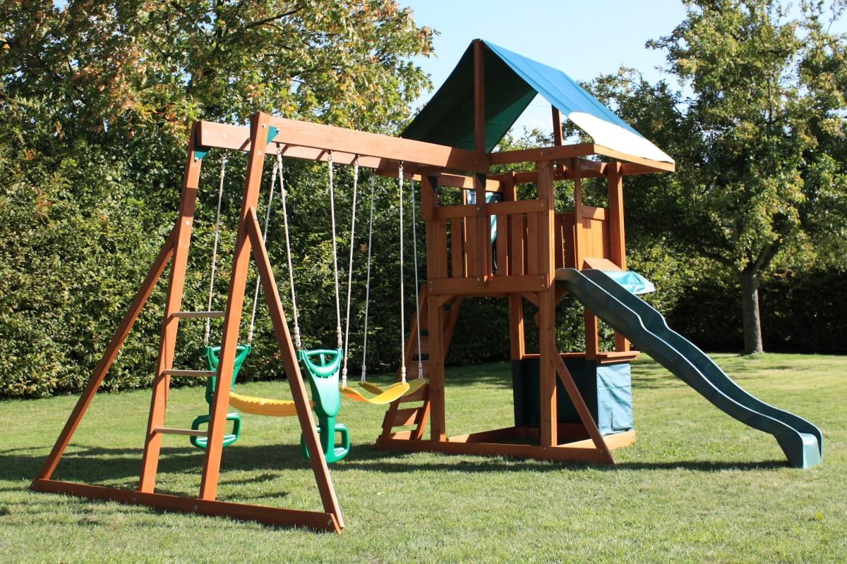 Детская площадка своими руками из дерева фото