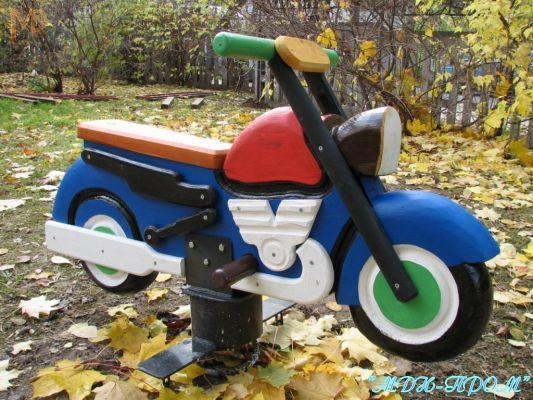 Детский мотоцикл своими руками