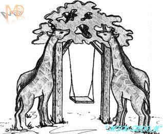 Качели Жирафы