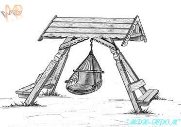Качели кресло-гамак Мечта дачника